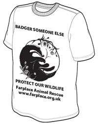 Badger someone else t shirt