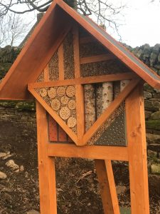 insect hotel at Farplace